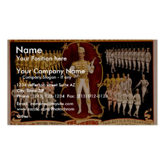 Primrose West s The Vanishing Grenadiers Business Card