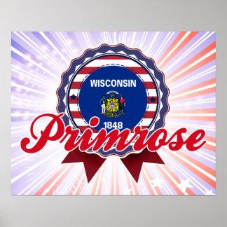 Primrose, WI Print