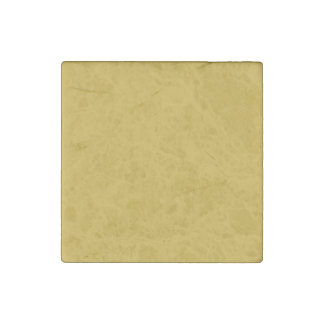 Primrose Yellow in an English Country Garden Stone Magnet
