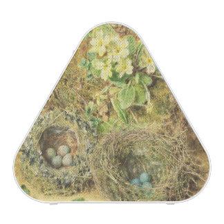Primroses and Birds' Nests Bluetooth Speaker