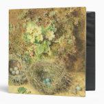 Primroses and Birds' Nests Vinyl Binder