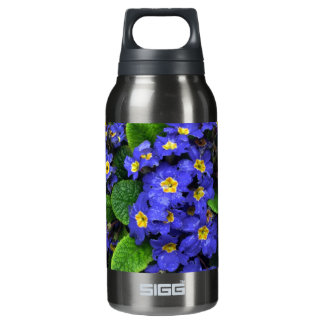 Primroses and Hungry Snails Insulated Water Bottle