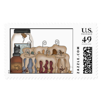 Primsy Candles Postage Stamp