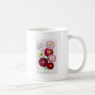 Primula flower vintage design coffee mug