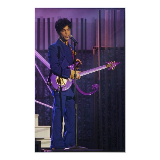 Prince | 46th Annual Grammy Awards Poster