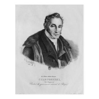 Prince Adam George Czartoryski, 1831 Postcard