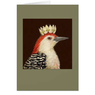 Prince Al the woodpecker card