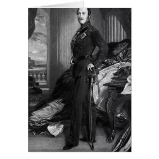 Prince Albert, after the painting of 1859 Card