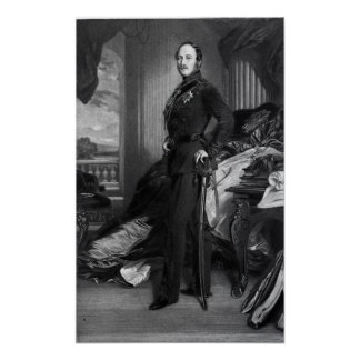 Prince Albert, after the painting of 1859 Poster