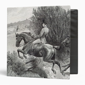 Prince Albert Hunting near Belvoir Castle Binder