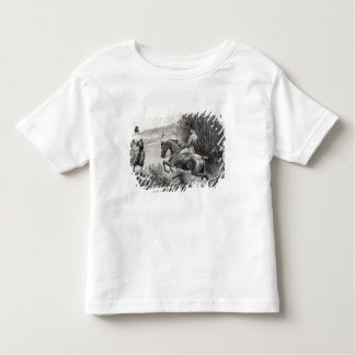 Prince Albert Hunting near Belvoir Castle Toddler T-shirt