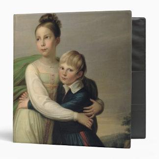 Prince Albrecht and Princess Louise, c.1817 Binder