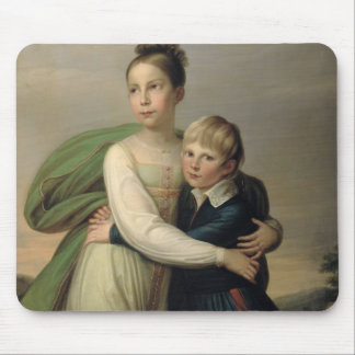 Prince Albrecht and Princess Louise, c.1817 Mouse Pad