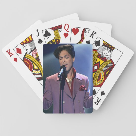 Prince | American Idol Season 5 Finale Show Playing Cards