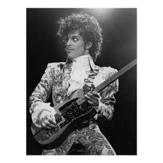 Prince | American Singer, Songwriter & Musician Poster