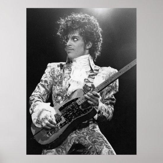 Prince   American Singer, Songwriter & Musician Poster
