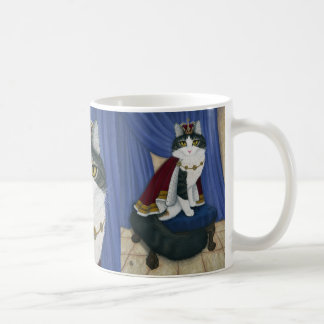 Prince Anakin Two Legged Cat Royal Regal Cat Mug