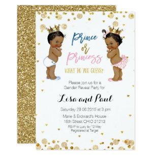 Prince And Princess Invitations Zazzle
