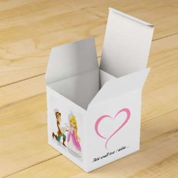 Professional Business Prince and Princess Small Favor / Gift Box