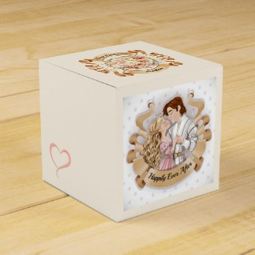 Professional Business Prince and Princess Small Favor / Gift Box 3