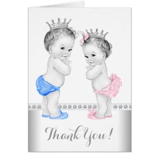 Prince and Princess Thank You Card