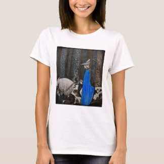 Prince and Tomte (Gnome) in the Forest T-Shirt