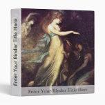 Prince Arthur And The Fairy Queen By Füssli Johann 3 Ring Binder
