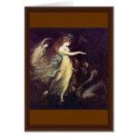 Prince Arthur And The Fairy Queen By Füssli Johann Card