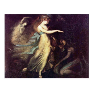 Prince Arthur And The Fairy Queen By Füssli Johann Postcards