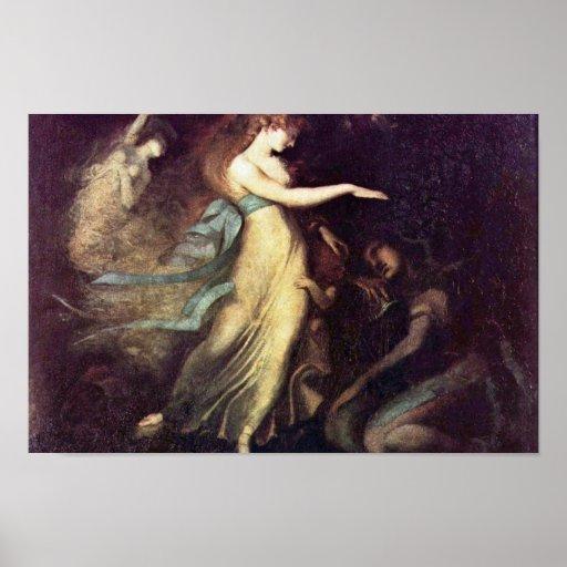 Prince Arthur And The Fairy Queen By Füssli Johann Posters