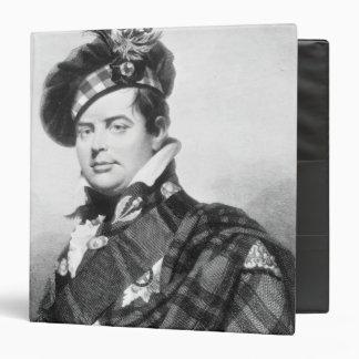 Prince Augustus Frederick, Duke of Sussex 3 Ring Binder