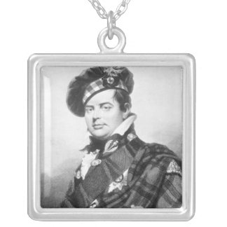 Prince Augustus Frederick, Duke of Sussex Silver Plated Necklace