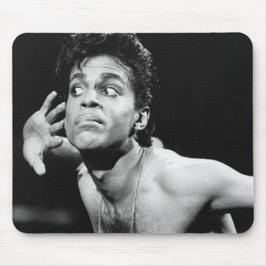 Prince | B&W Photo Mouse Pad