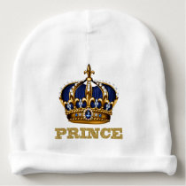 Prince Baby Boy Baby Beanie
