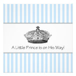 Prince Baby Boy Shower Invite