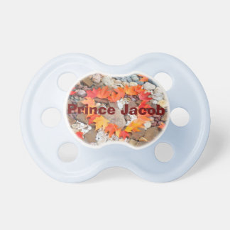 Prince Baby Name pacifier Personalize New Baby