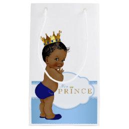 Prince Baby Shower Small Gift Bag