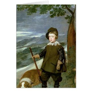 Prince Balthasar Carlos Card