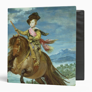 Prince Balthasar Carlos on horseback, c.1635-36 Binder