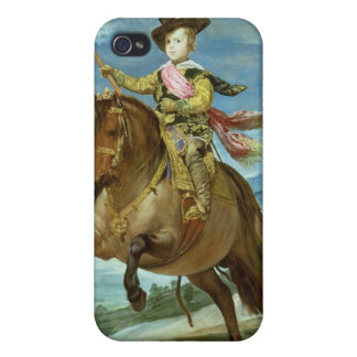 Prince Balthasar Carlos on horseback, c.1635-36 iPhone 4 Cover