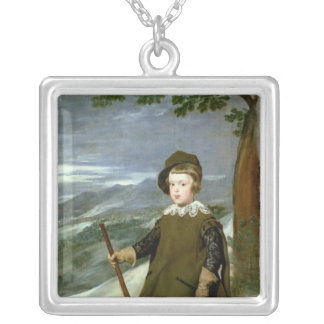 Prince Balthasar Carlos Silver Plated Necklace