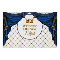 Prince Birthday Little Prince Baby Shower Poster