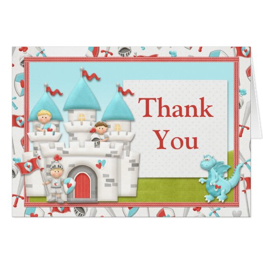 Prince Birthday Thank You Card
