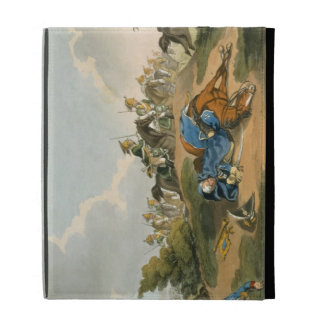 Prince Blucher under his Horse at the Battle of Wa iPad Folio Case