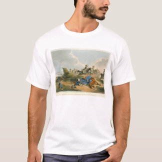 Prince Blucher under his Horse at the Battle of Wa T-Shirt