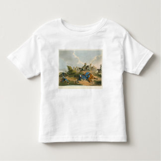 Prince Blucher under his Horse at the Battle of Wa Toddler T-shirt
