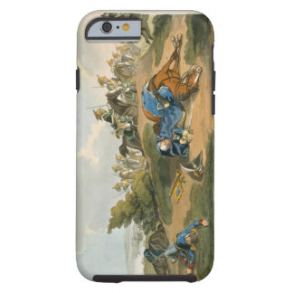Prince Blucher under his Horse at the Battle of Wa Tough iPhone 6 Case