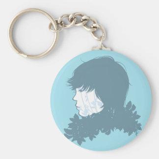 Prince Blue Keychain