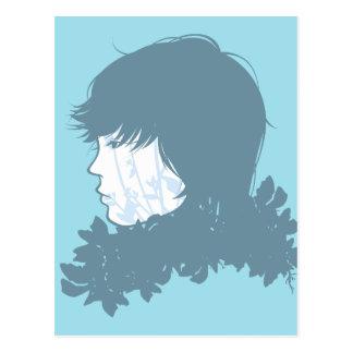 Prince Blue Postcard