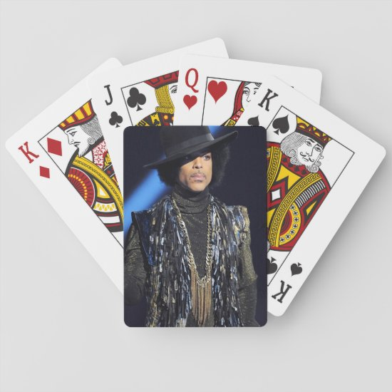 Prince | Brit Awards 2014 Show Playing Cards